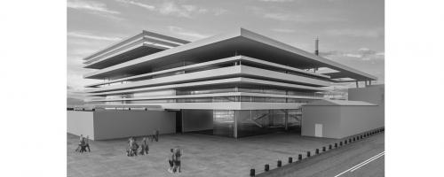 Architettura e scienza come grande faro a Coroglio