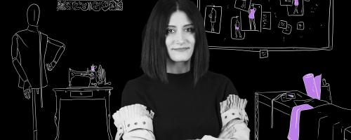 Pina, fashion designer laureata alla Vanvitelli. Scopri la sua storia