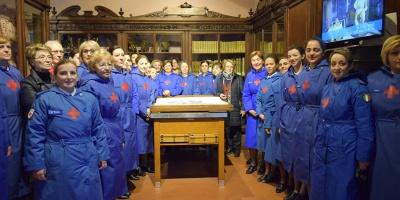 Museo di Anatomia, in visita le Infermiere della Croce Rossa Italiana