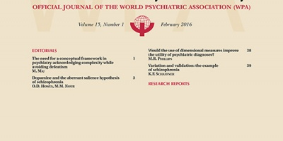 Scienza e ricerca, la World Psychiatry della Vanvitelli prima in classifica