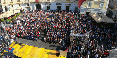 Graduation day, festa grande in piazza a Capua per 170 laureati del Dipartimento di Economia
